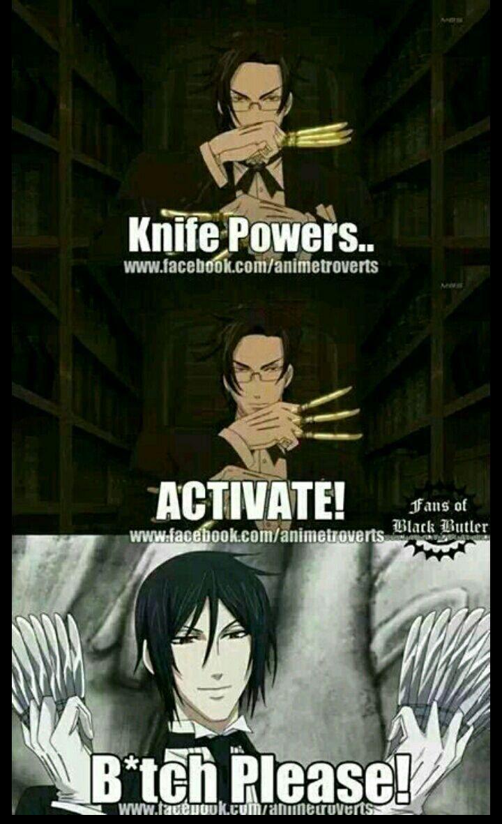 Memy z anime – Kuroshitsuji