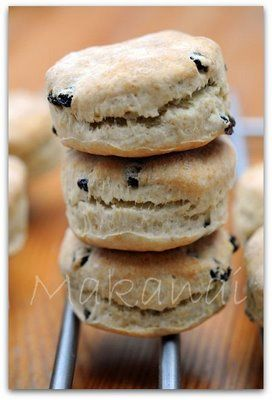 Aaaaand these are the best scones ever. Une excellente recette de scones - Makanai