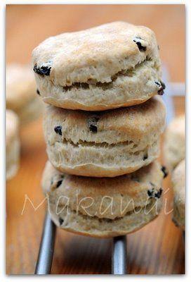 Une excellente recette de scones - MakanaiMakanai
