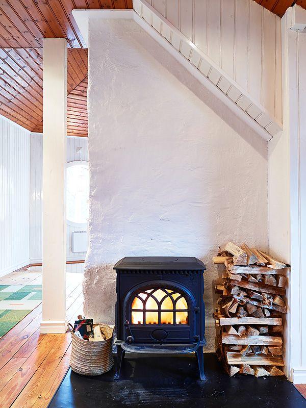 Best 106 wood burning stoves ideas on Pinterest   Wood burner, Wood ...
