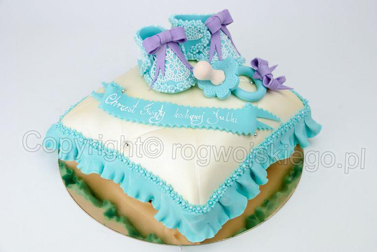 baptism cake, tort na chrzest, chrzciny www.rogwojskiego.pl