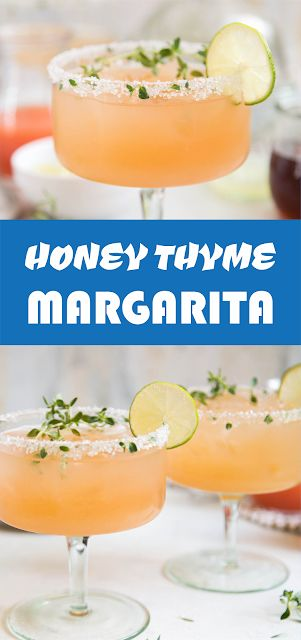 HONEY THYME MARGARITA | Latte Intero #drinks #Beverages #IceCube #Mocktail #Cooktail #beveragesfordinner #mocca #sangria #mojiro #smoothies #beveragesdessert #beverageslovers #beveragesrecipe #beveragesyrups #beveragestation #beverageservice #drinking #drinkup #drinklover #iced #cooler