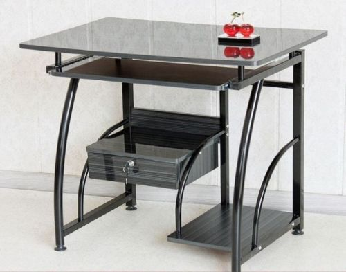 Compact-Computer-Student-Study-Table-Home-Office-Desk-Black