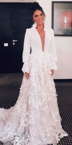 36 Extremely-Fairly Floral Marriage ceremony Clothes For Brides
