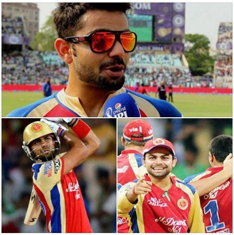 How many runs did Virat Kohli amass in IPL 2016?