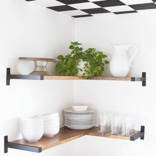 Kitchen Shelves At Ikea: 17 Best Ideas About Ikea Shelf Brackets On Pinterest