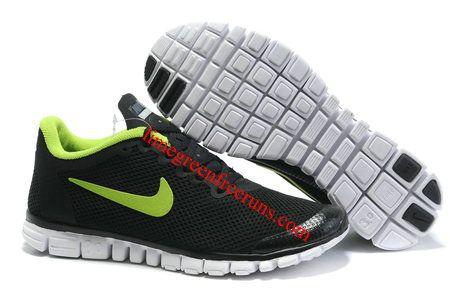 Nike Free 3.0 Mens Shoes Grey Green