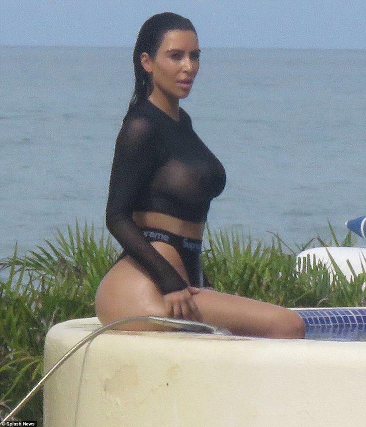 Kim Kardashian en Mexico ( . )( . ) - Portalnet.CL