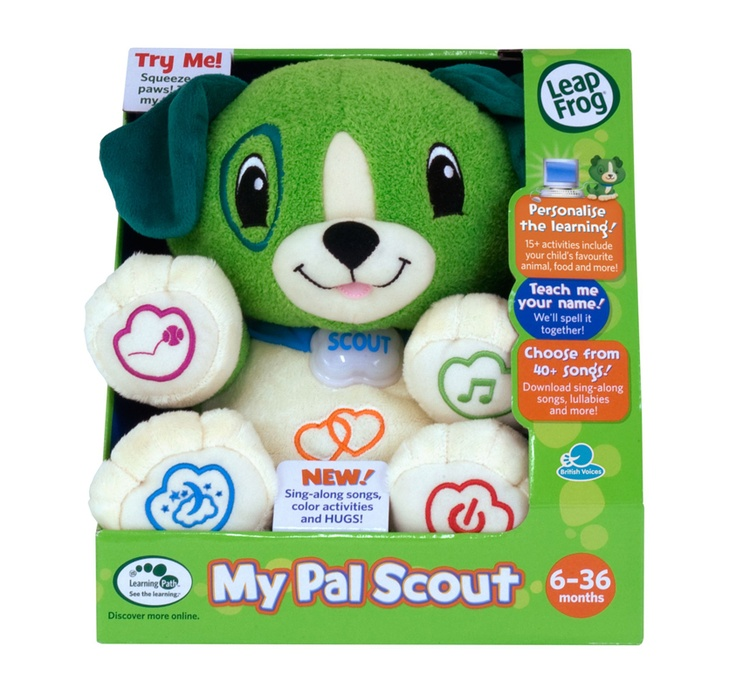 The perfect place to start your LeapFrog collection - My Pal Scout