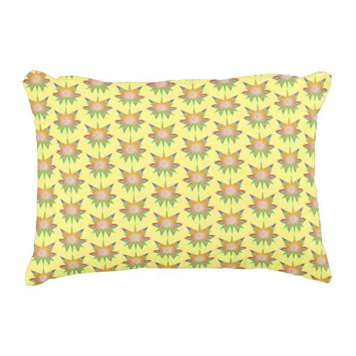 Funny Magic Pattern Accent Pillow