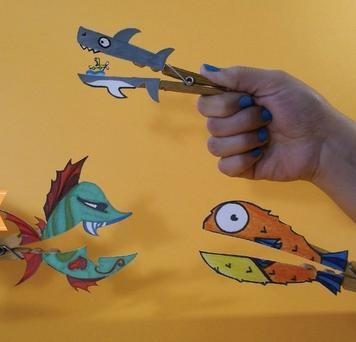Pinzas de peces comelones!