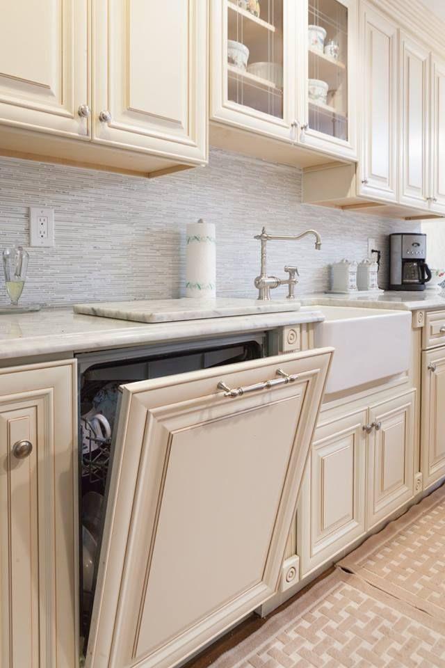 Creme Maple Glazed High Quality Maple Wood Cabinet J K