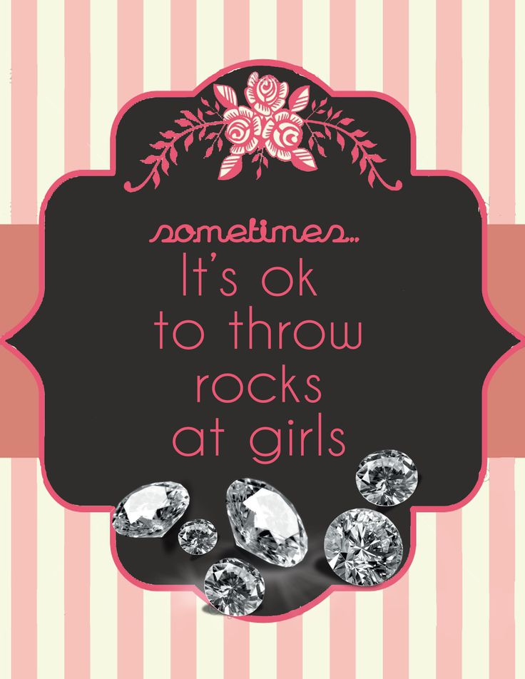 AS long as they are precious stones :).Diamonds Jewelry, Friends, Quotes, Girls Generation, Throwrock, Funny, Throw Rocks, Things, Bling Bling