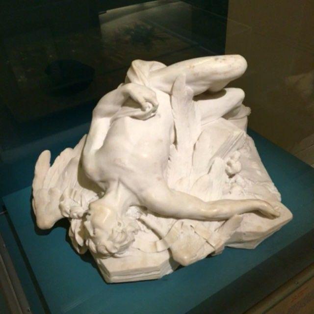 La chute d'Icare (1743) par Paul-Ambroise Slodtz #PetiteGalerie du #Louvre