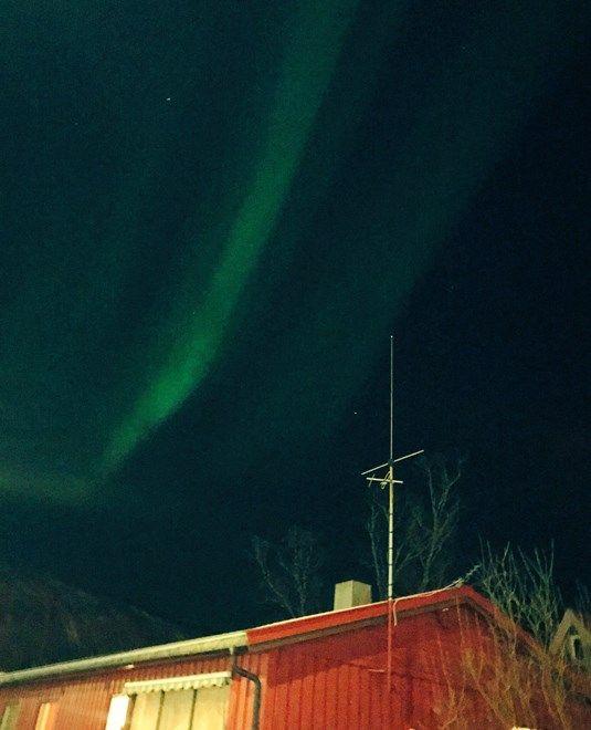 Beautiful Northern lights, Norway