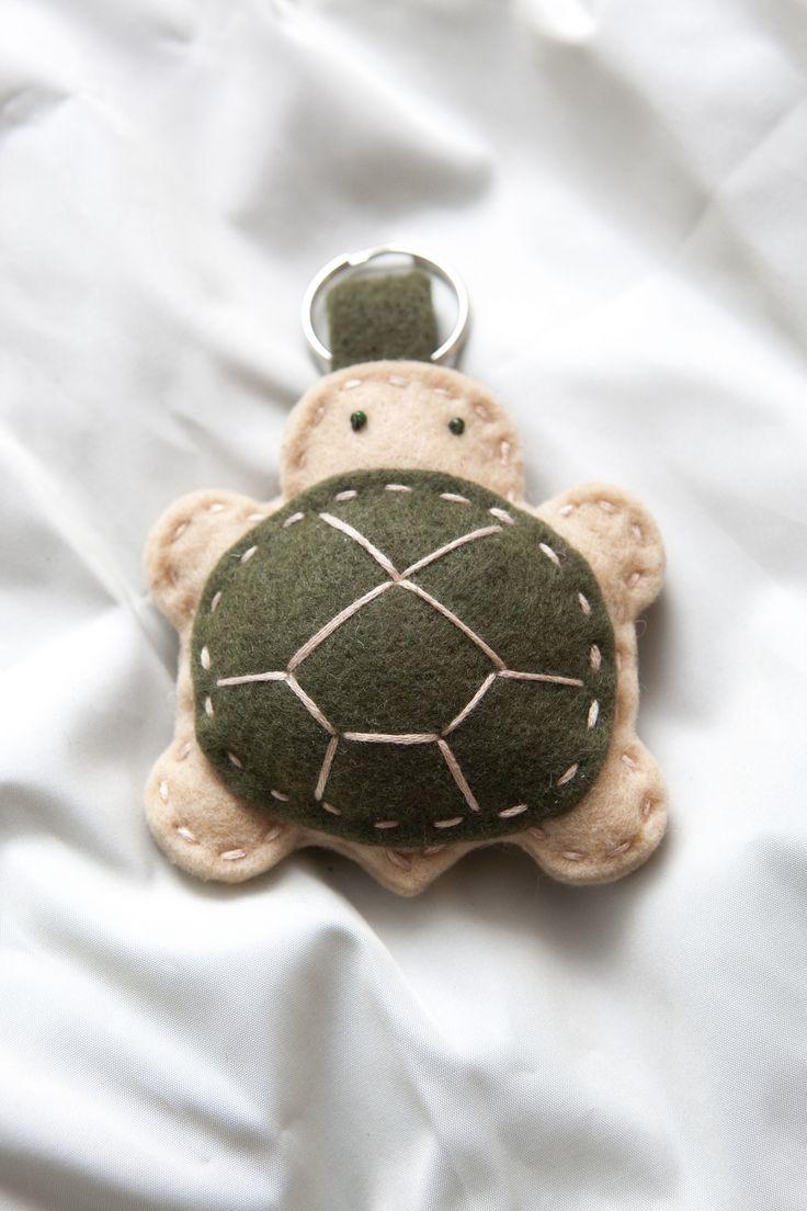 tortuga de fieltro