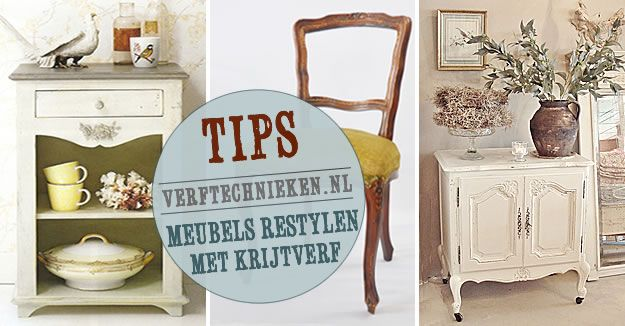 meubels opknappen en verven met krijtverf