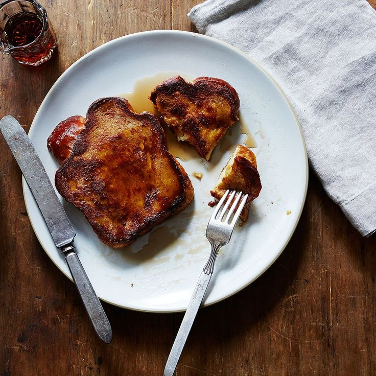 My Father's Challah Bread French Toast recipe on Food52