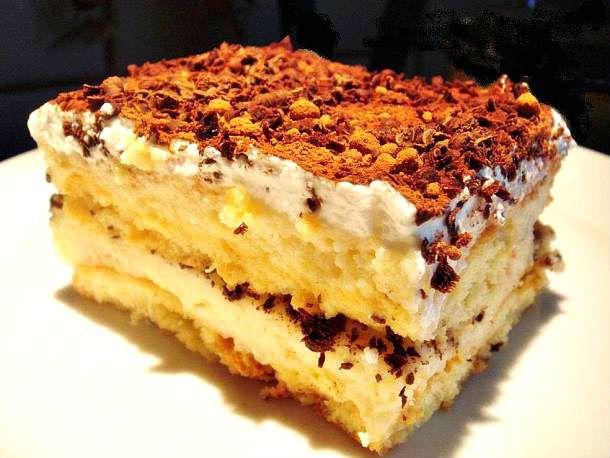 Első látásra nehéz elhinni, hogy a gusztusos sztracsatella gyors és pofonegyszerű süti.