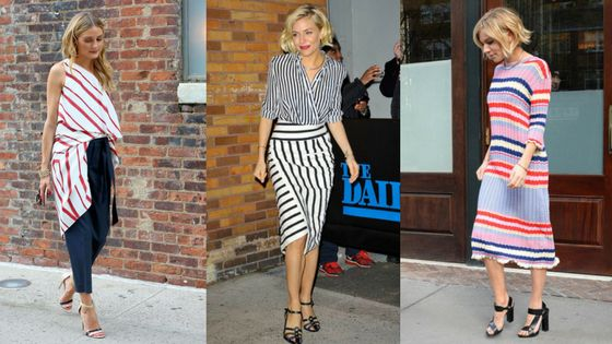 SPORTS LUXE: HOW TO WEAR STRIPES!