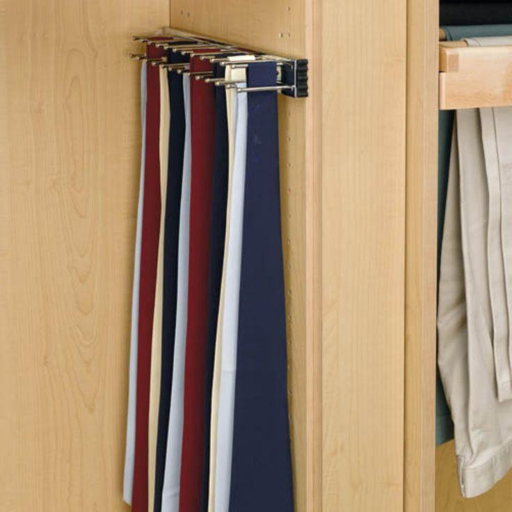 25 Best Tie Rack Ideas On Pinterest Diy Cabinet Door