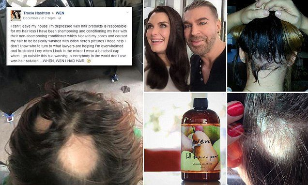 200 women claim Wen hair care products made their hair fall out
