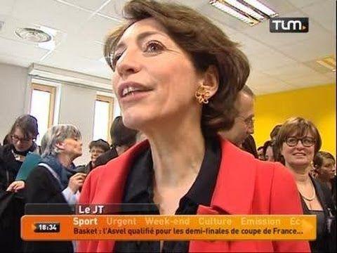 Politique - Marisol Touraine en visite à Lyon - http://pouvoirpolitique.com/marisol-touraine-en-visite-a-lyon/