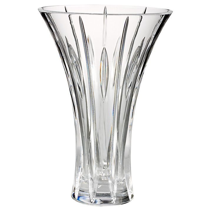 Buy Marquis by Waterford Crystal Sheridan Flared Vase, H23cm Online at johnlewis.com