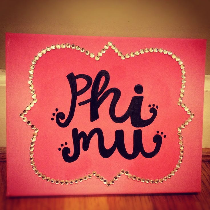 i love crafts, phi mu crafts!!