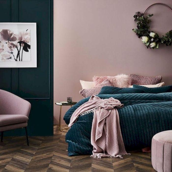 23++ Chambre vieux rose et vert trends