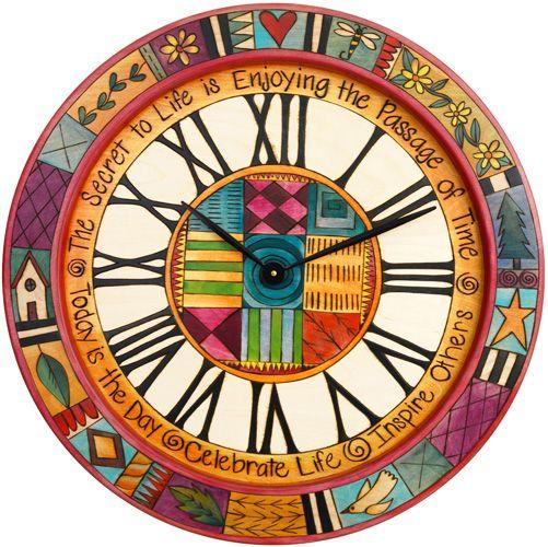 Round Nástěnné hodiny