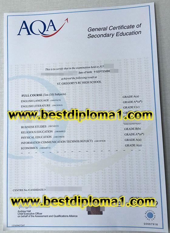 Fake AQA Certificate Skype Bestdiploma Email Bestdiploma1outlook