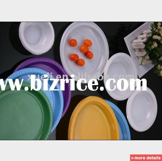 party Disposable plastic plate/dishes party plastic plates/dishes party disposable plates / China Dishes & Plates for sale