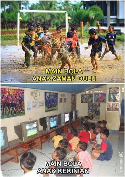 Ini Lho Beda Permainan Anak Jaman Dulu Dan Sekarang Miris Tapi Bikin Ngakak