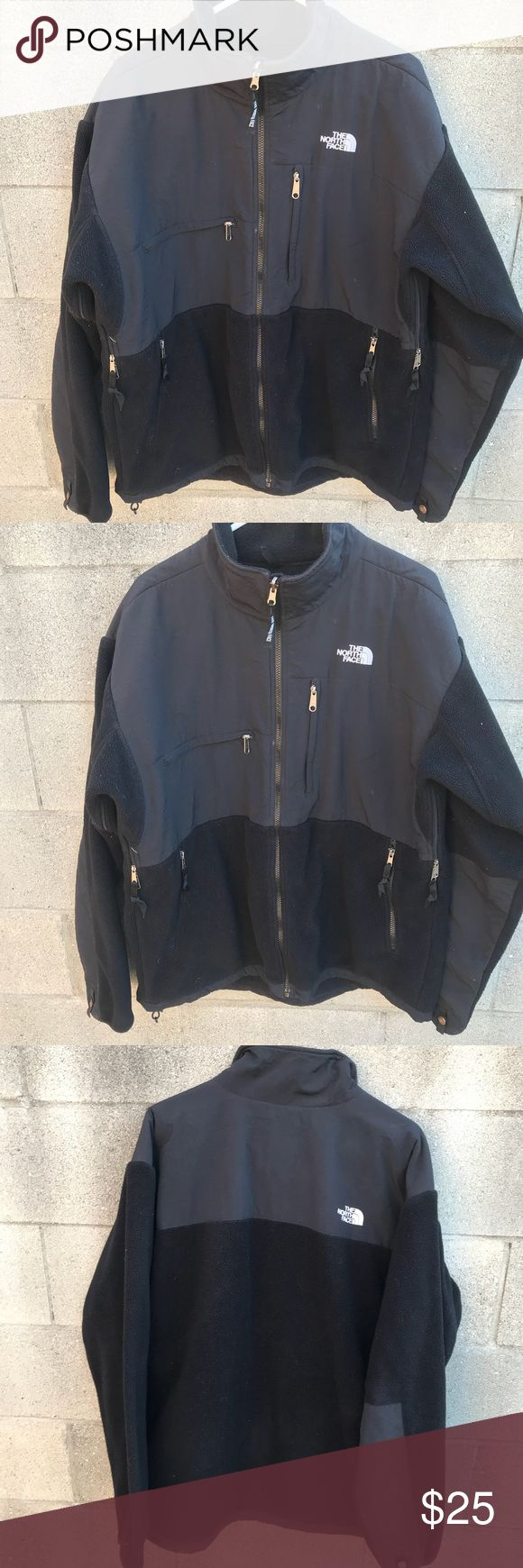 North face men's jacket The north face men jacket Size Xl Black No stains or rips  Length 31 Armpit to armpit 27 Shoulder to shoulder 21 Arm length from shoulder 33 North Face Jackets & Coats