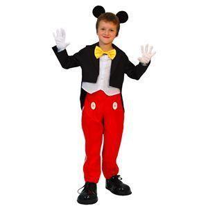 【コスプレ】 RUBIE'S(ルービーズ) DISNEY(ディズニー) コスプレ Child Mickey(ミッキー) Mサイズ - 拡大画像