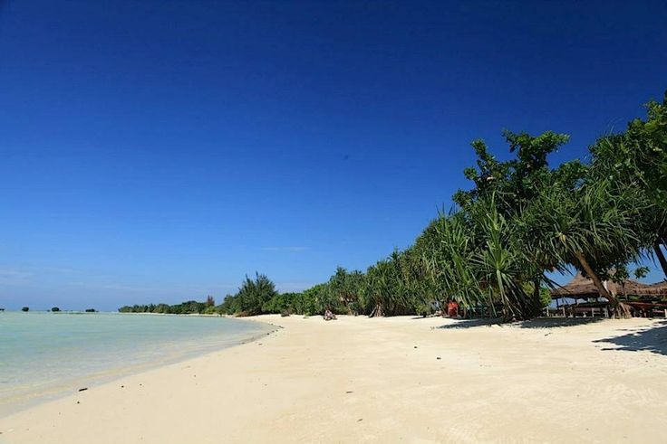 Virgin beach, kepulauan seribu
