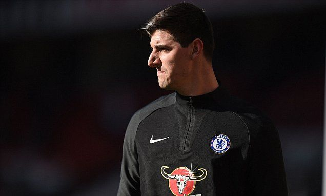 PSG to battle with Real Madrid to sign Chelsea Thibaut Courtois
