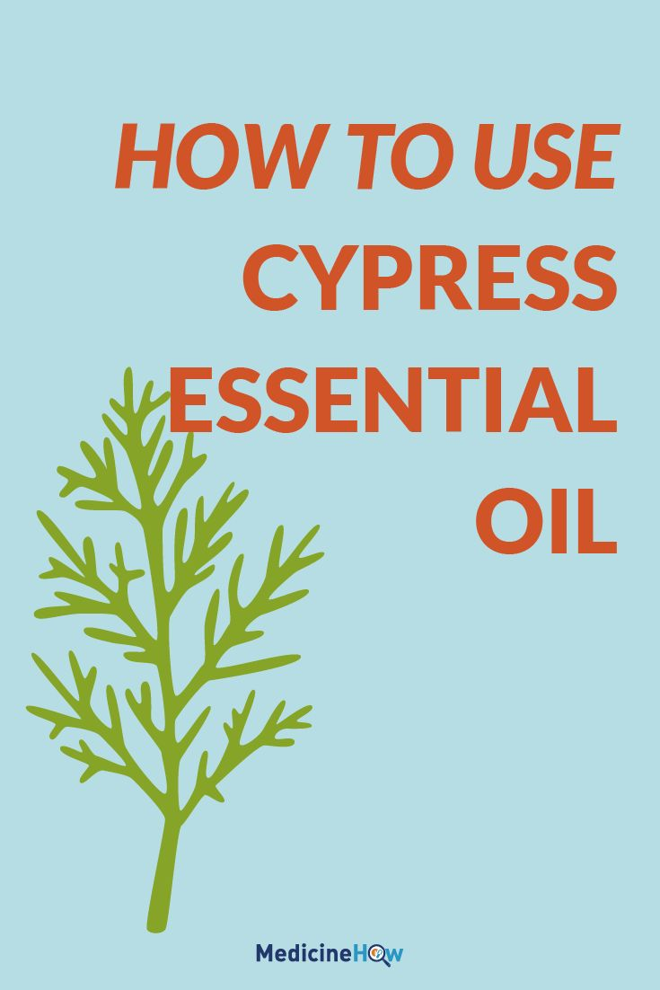 How to use Cypress Essential Oil