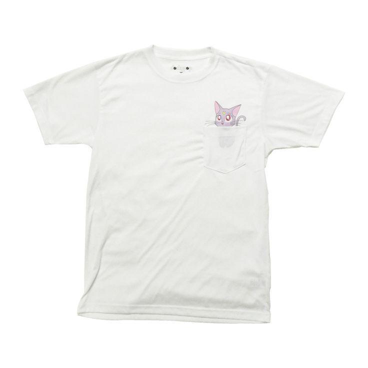 Kawaii Diana Pocket Tee - http://www.dorkypop.com/products/kawaii-diana-pocket-tee #kawaii #cute #shopdorkypop #dorkypop