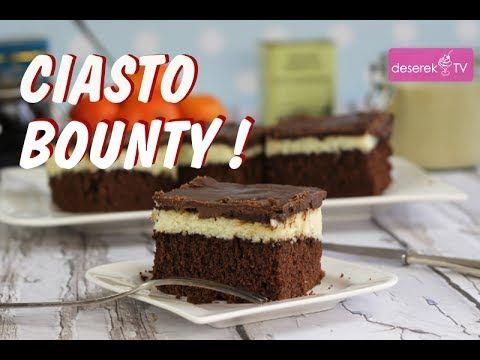 Ciasto Bounty przepis od Deserek.TV