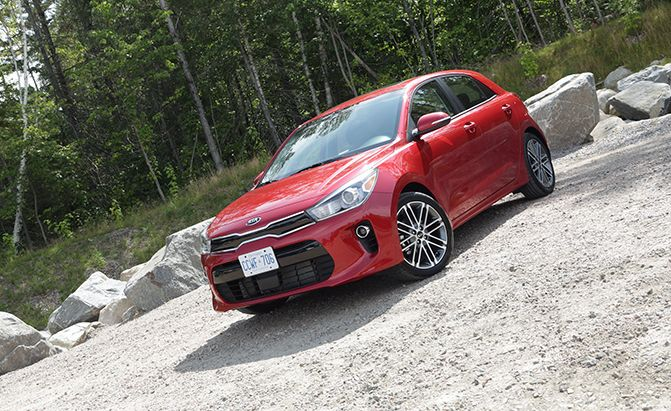2018 Kia Rio Review :  The stylish Kia Rio has undergone a number of important changes for 2018 all designed to make it more refined upscale and high-tech.  FAST FACTS  Engine: 1.6L 4-cylinder  Output: 130 hp 119 lb-ft  Transmission: 6-speed automatic 6-speed manual  US Fuel Economy (MPG): 28 city 37 hwy 32 combined  CAN Fuel Economy (L/100 km): TBD  US Price: TBD  CAN Price: Starts at $16555  A few of these changes seem a bit puzzling at first but an in-depth test reveals that the…