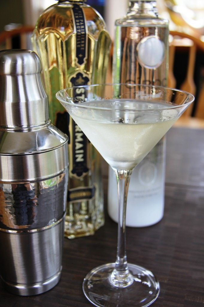 The Coco Chanel Martini is a classicly feminine martini that's so easy to make and so very delicious!