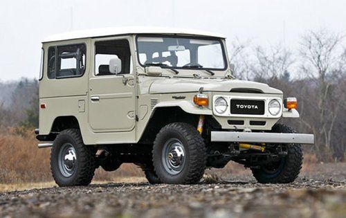 I used to own a red, 1978 FJ4 Landcruiser, much like this one.  It was indestructible. Unfortunately, however,driving it was like going into a wrestling ring and it only got about 11 miles to the gallon!