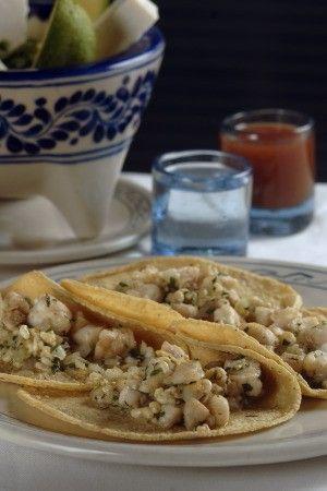 Tacos de Escamoles. El caviar mexicano. Deliciosos..!!!