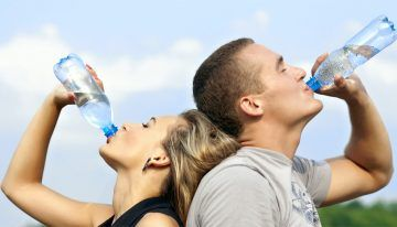 Drinking Enough Water For A Healthier Body. #HealthAdvice #HealthCare #SkinCare