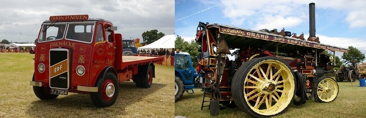 Vintage vehicles and team engines galore at Kelsall Steam