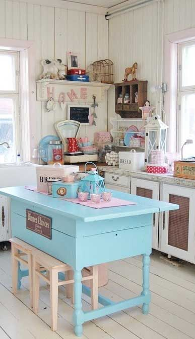 A little bit overly pastel, but pretty... And cute....