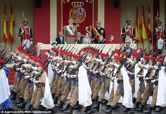 Heritage: The holiday is known as Dia de la Hispanidad, or Hispanic Day. It celebrates Christopher Columbus' arrival in the New World and is also Spain's armed forces day