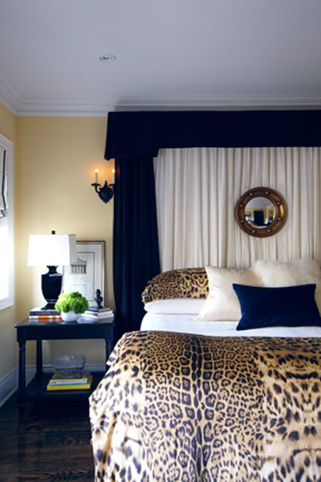 20 Ideas To Use Animal Prints In Your Bedroom